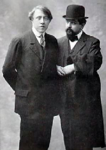 Caplet with his friend Debussy in the 1910s