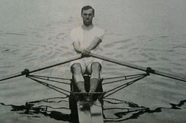 F.S. Kelly rowing circa 1905, http://hear-the-boat-sing.blogspot.co.uk/)