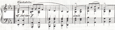 Excerpt of George Dyson's trio section