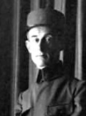 Maurice Ravel in uniform, circa 1916 (National Library of France)